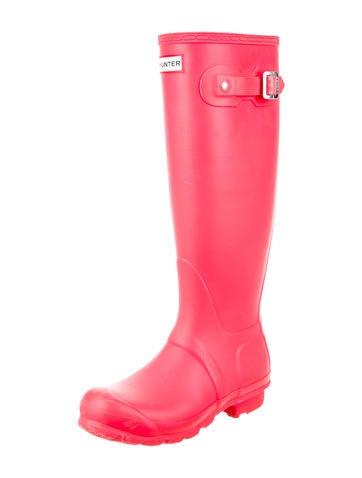 Rubber Logo Rain Boots