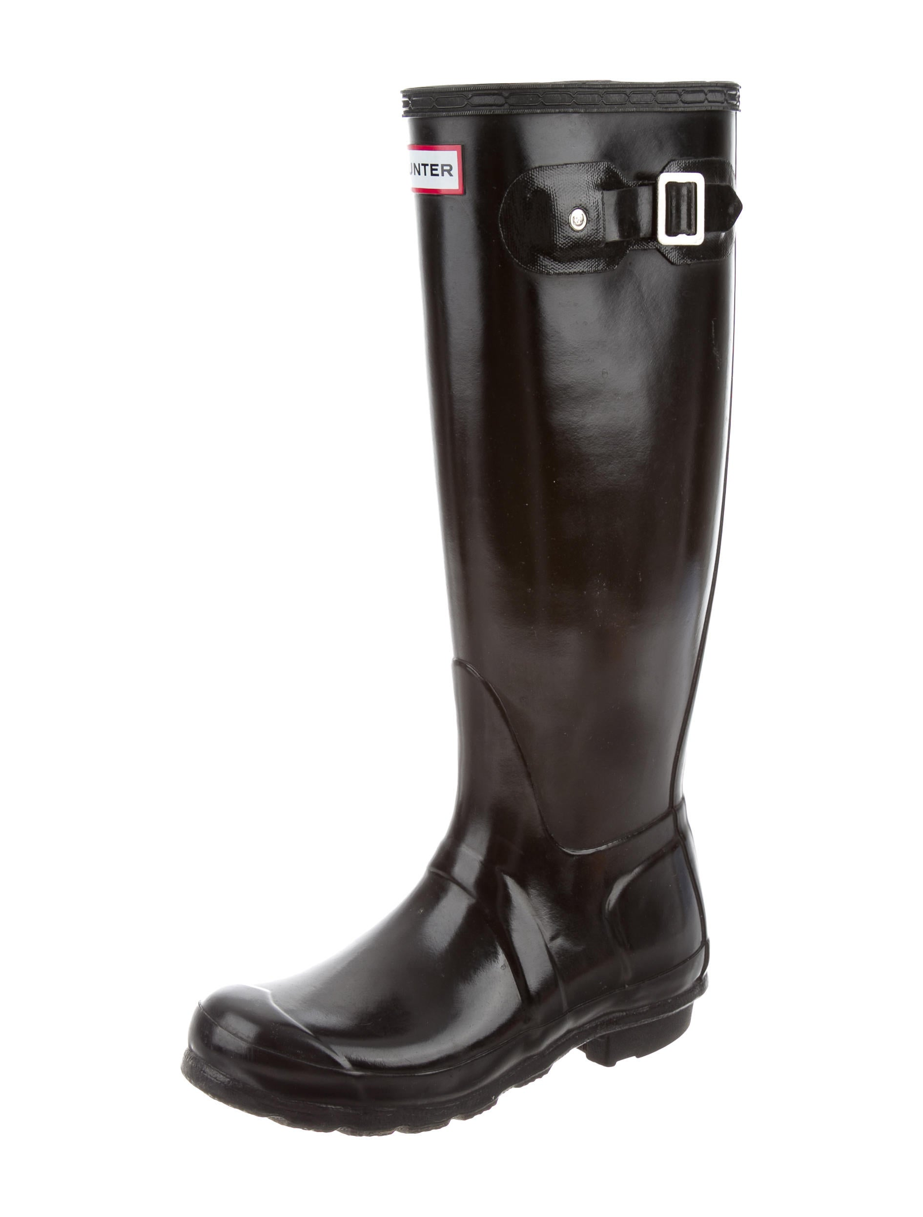 Hunter Knee-High Rain Boots - Shoes - WH820898 | The RealReal