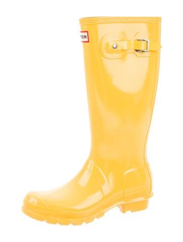 Knee-High Rain Boots