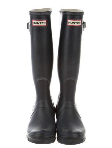 hunter rubber kneehigh rain boots  shoes  wh820941