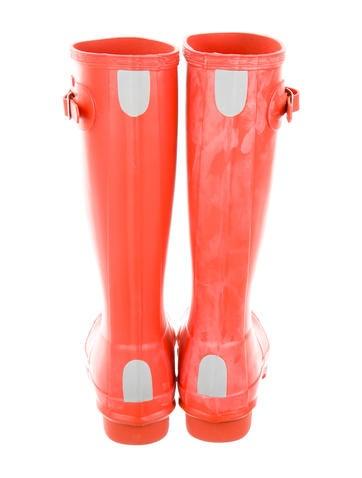 Rubber Mid-Calf Boots