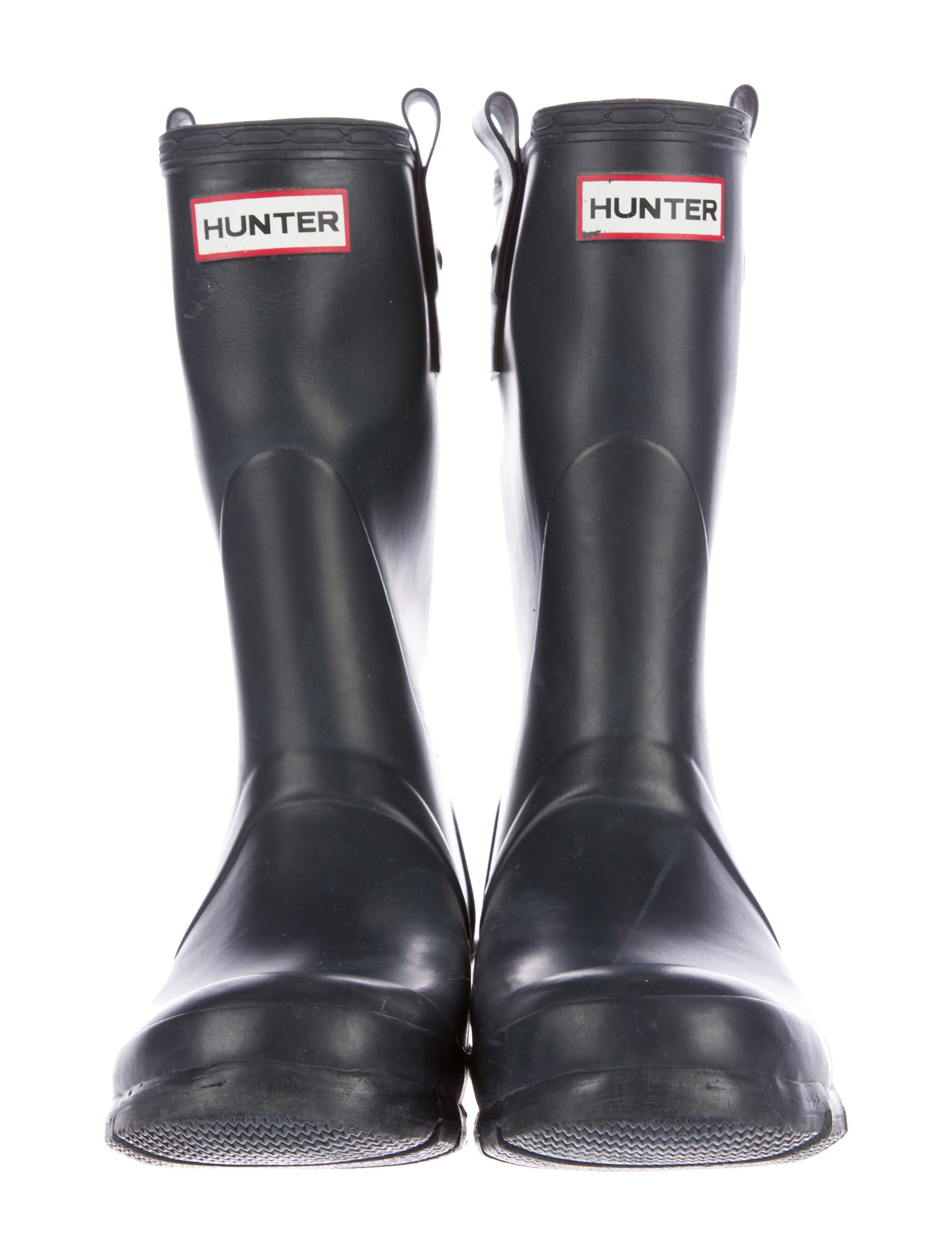 Hunter Rubber Rain Boots - Shoes - WH821111 | The RealReal