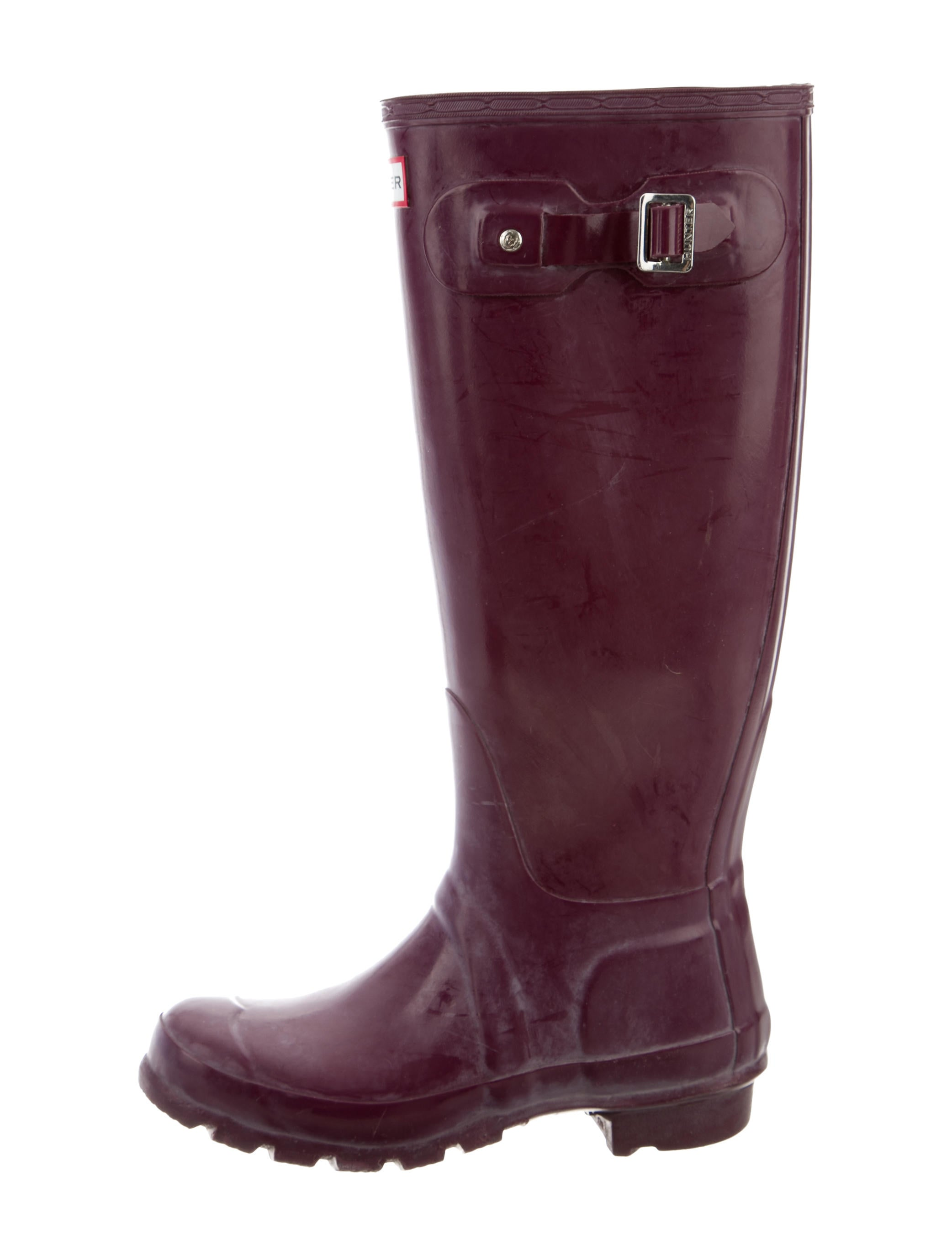 knee high rubber boots shoes wh821118