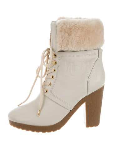 Chandler Lace-Up Ankle Boots