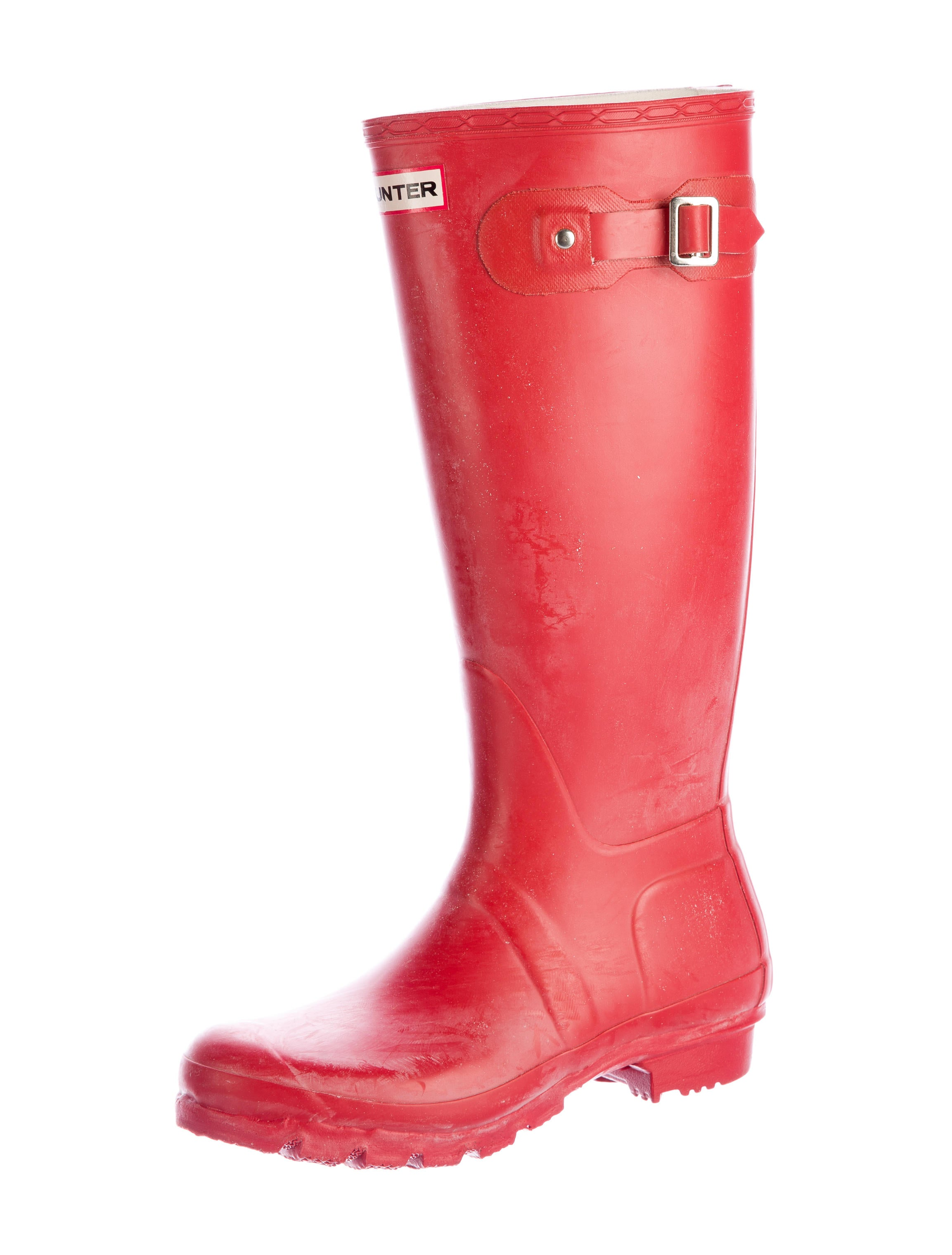 Hunter Rubber Rain Boots - Shoes - WH821471 | The RealReal