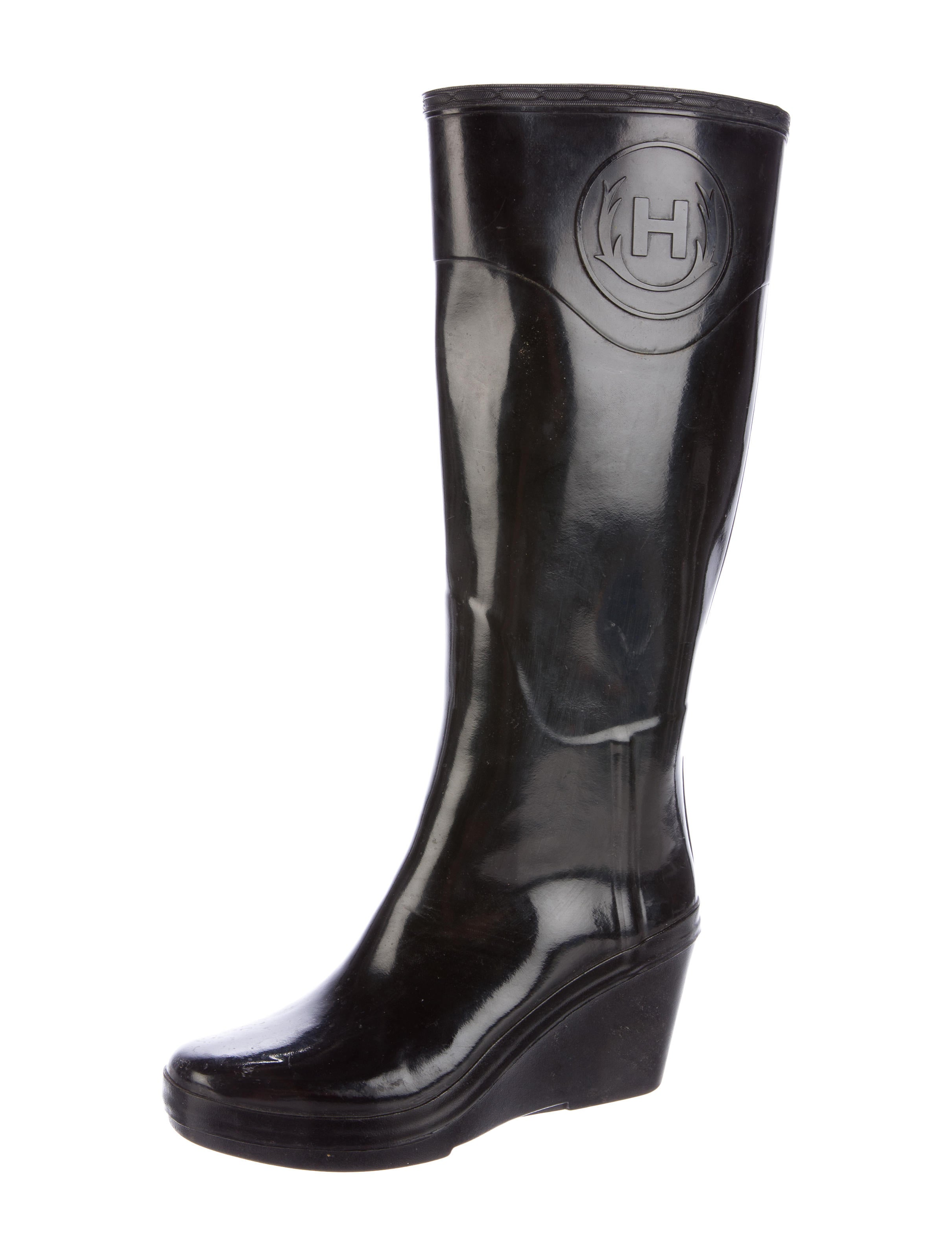 rubber wedge boots shoes wh821509 the