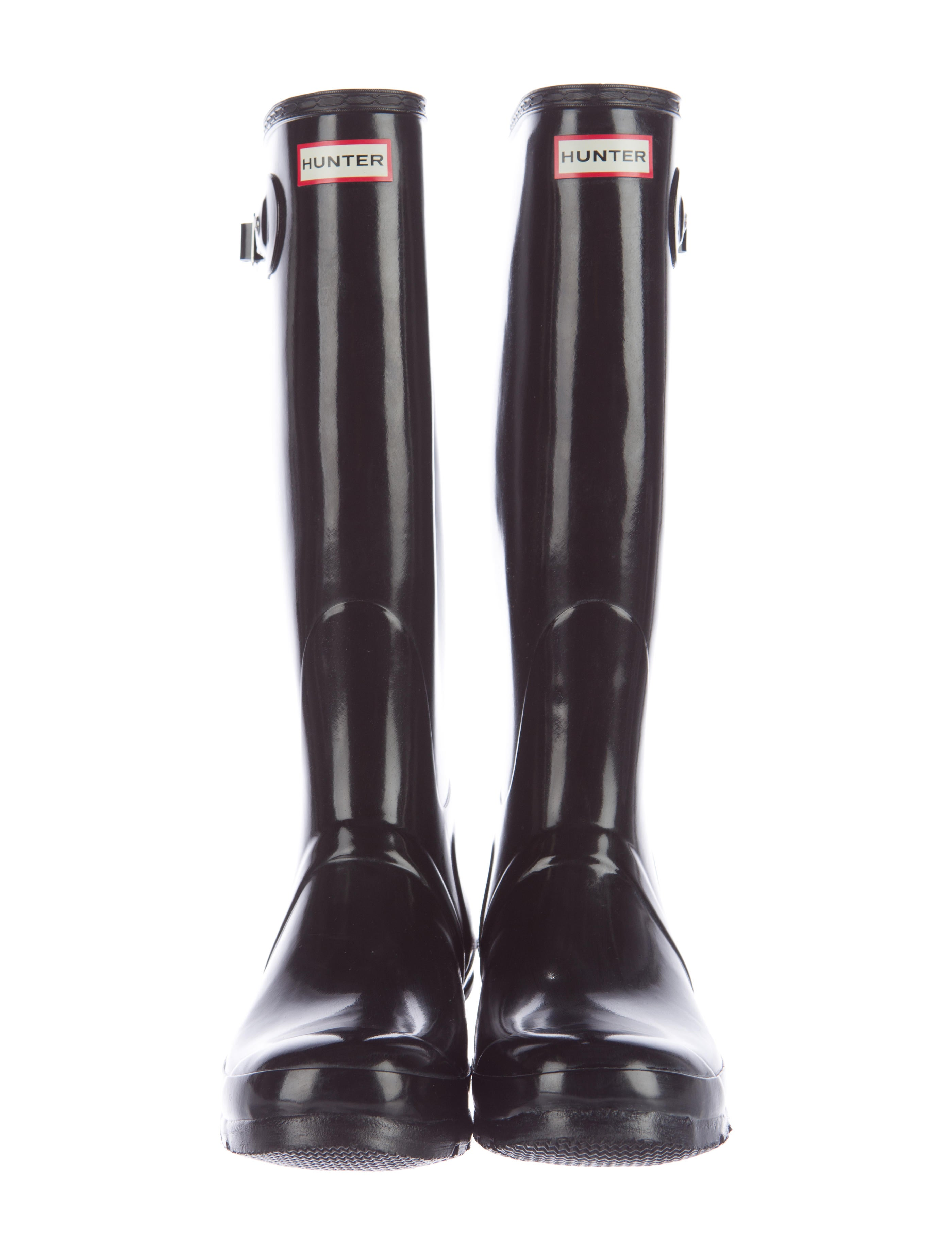 Hunter Rubber Rain Boots - Shoes - WH821569 | The RealReal
