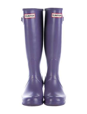 Hunter Round-Toe Rain Boots geniue stockist cheap price 4URHyB