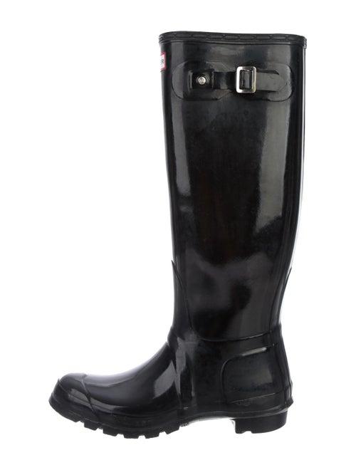 Hunter Knee-High Rain Boots Black