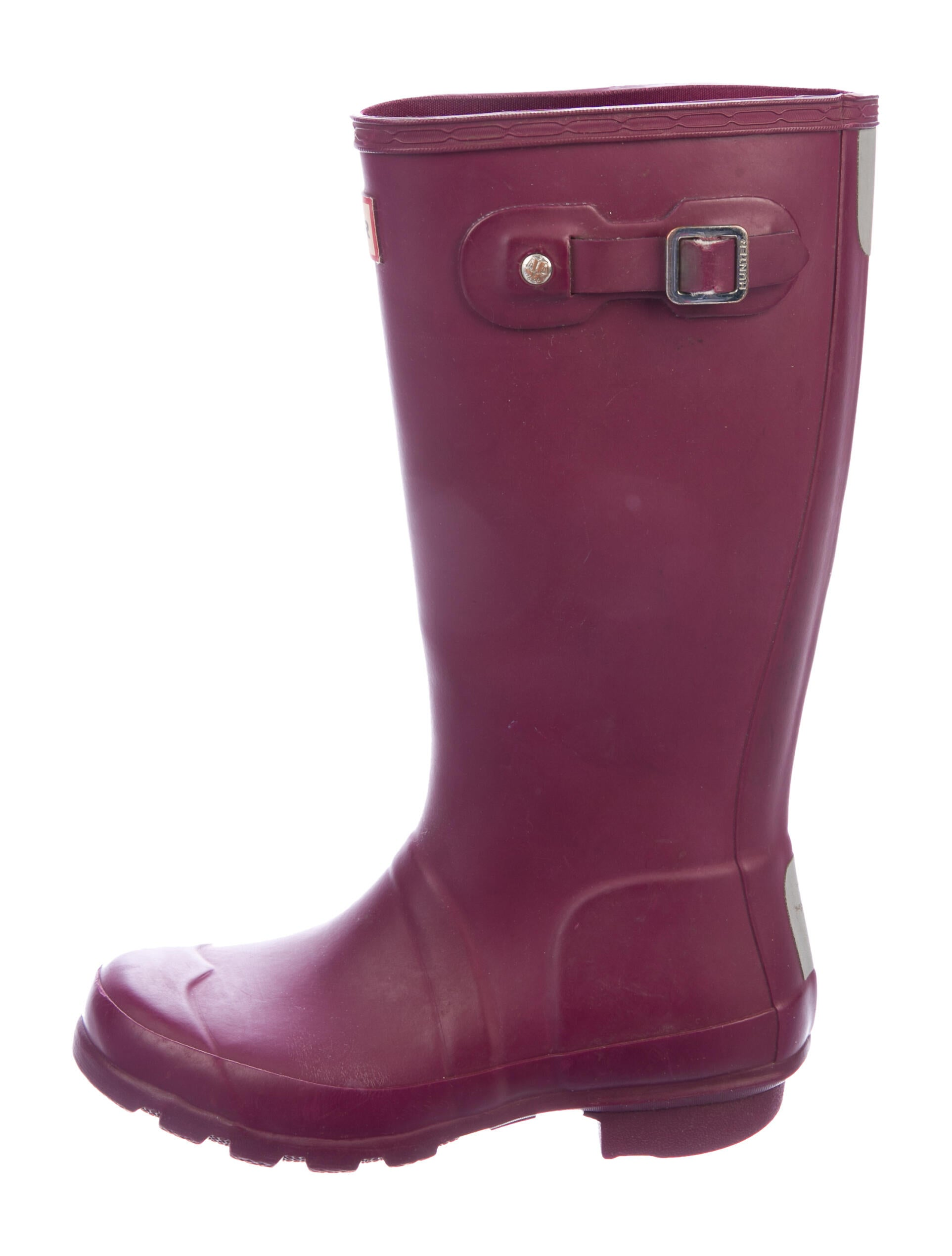 unbrand Girls Basic Colorblock Rain Boot, Size 9, Pink