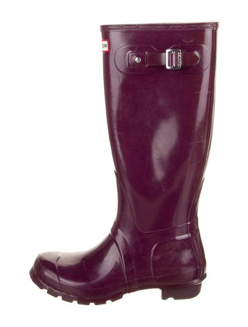 Hunter Rain Boots Purple