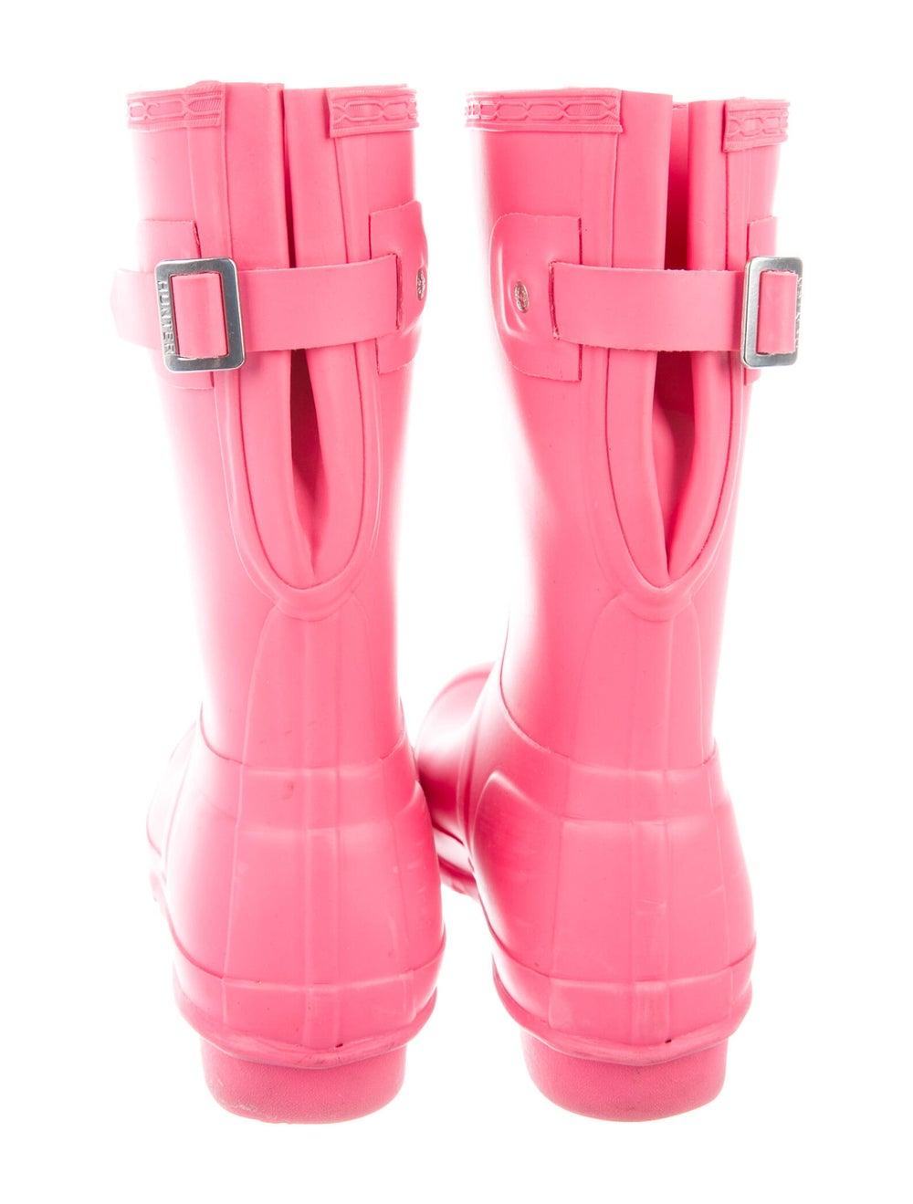 Hunter Rain Boots Pink - image 4