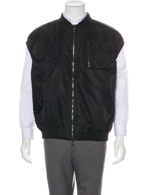 Haculla Embroidered Padded Vest black