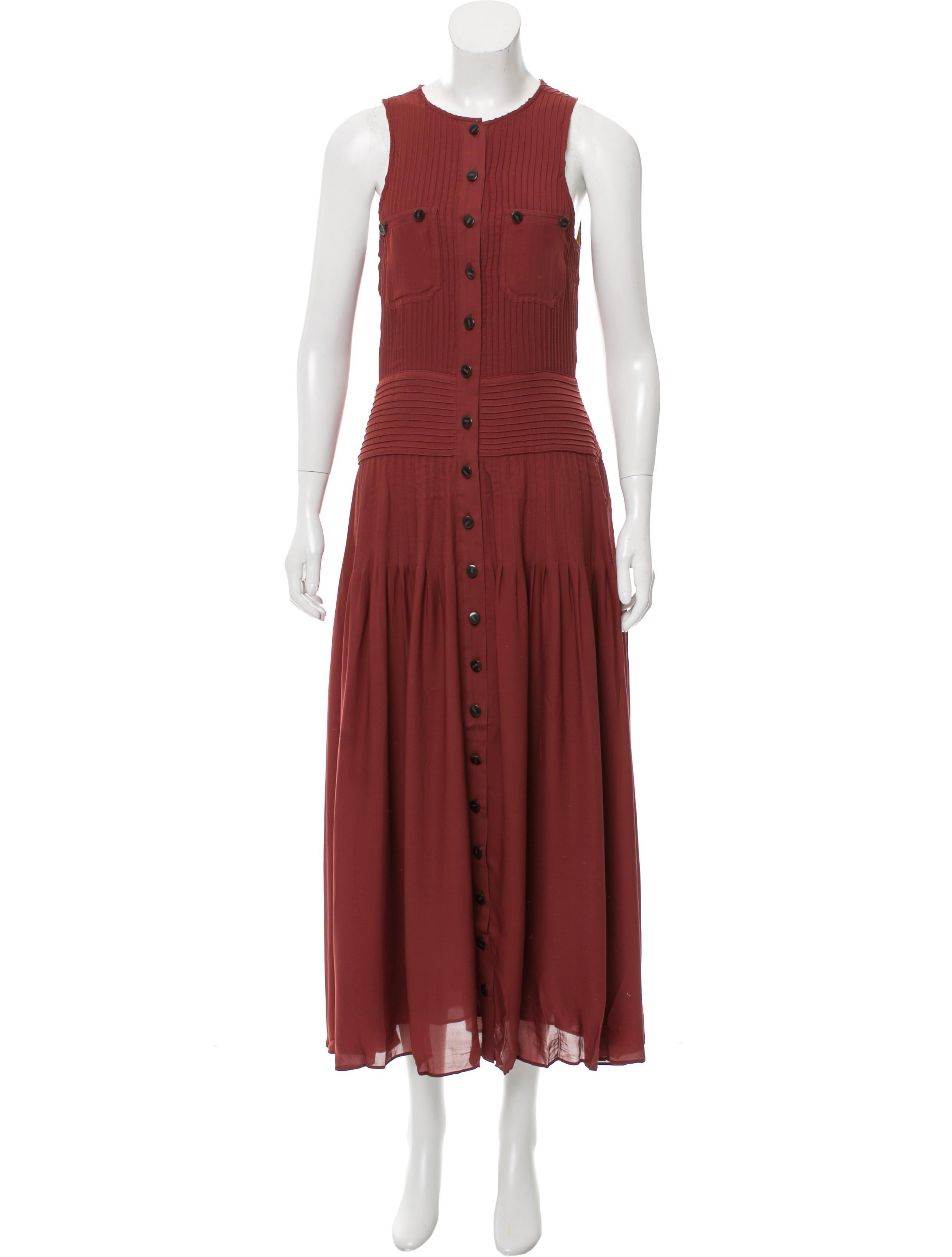 Release Dates For Sale Hanley Mellon Silk Mini Dress Top Quality nObfNd9