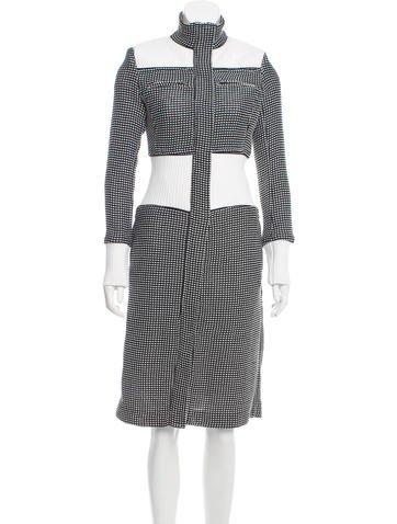 Hanley Mellon Long Bouclé Coat None