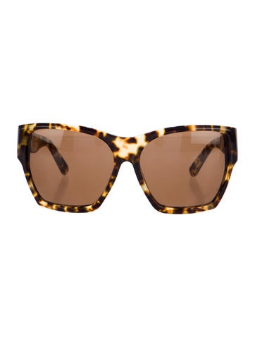 Leopard Print Billie Sunglasses