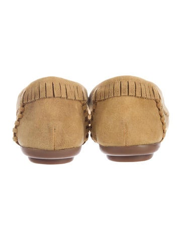 Millie Suede Moccasins w/ Tags