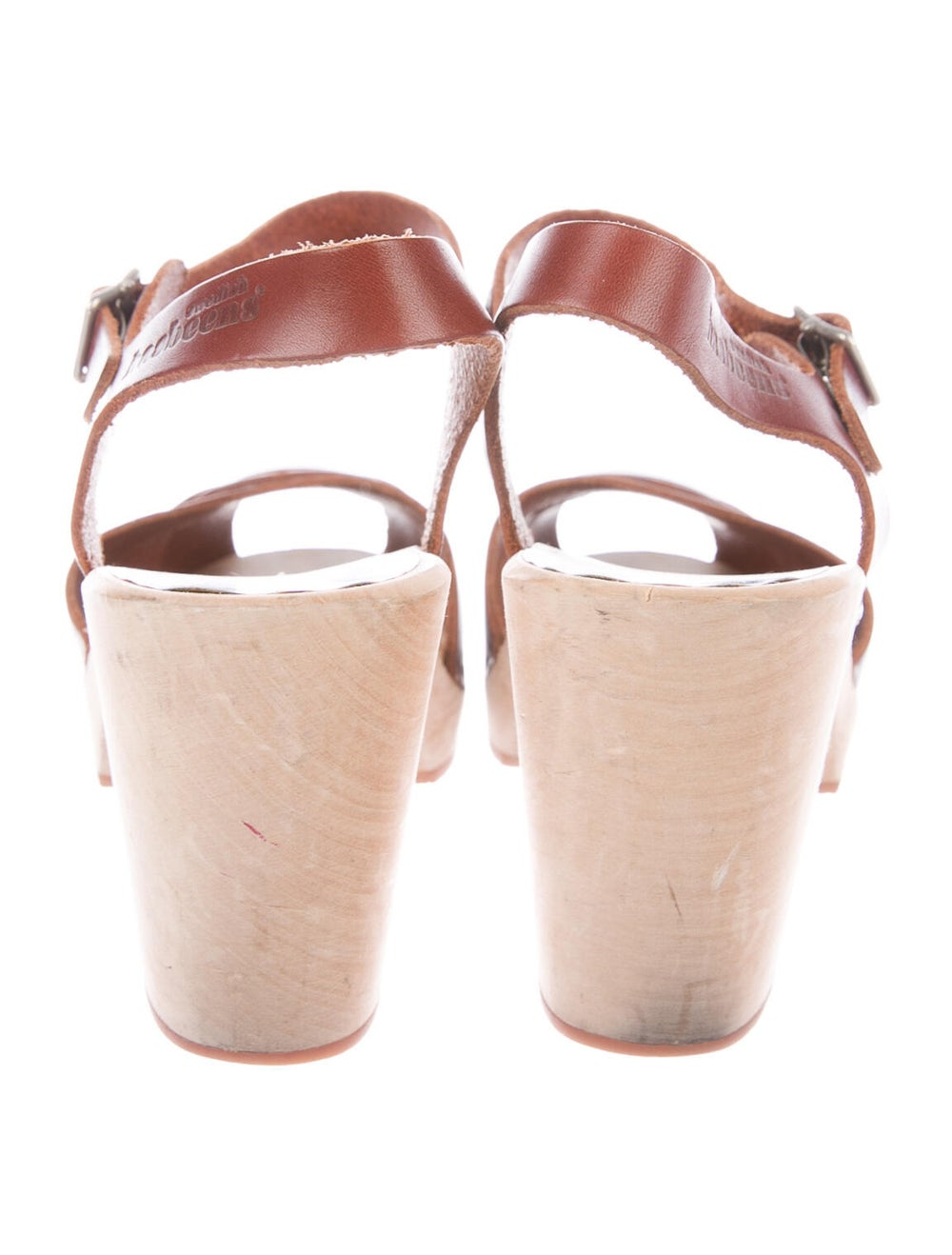 Swedish Hasbeens Leather Sandals Brown - image 4