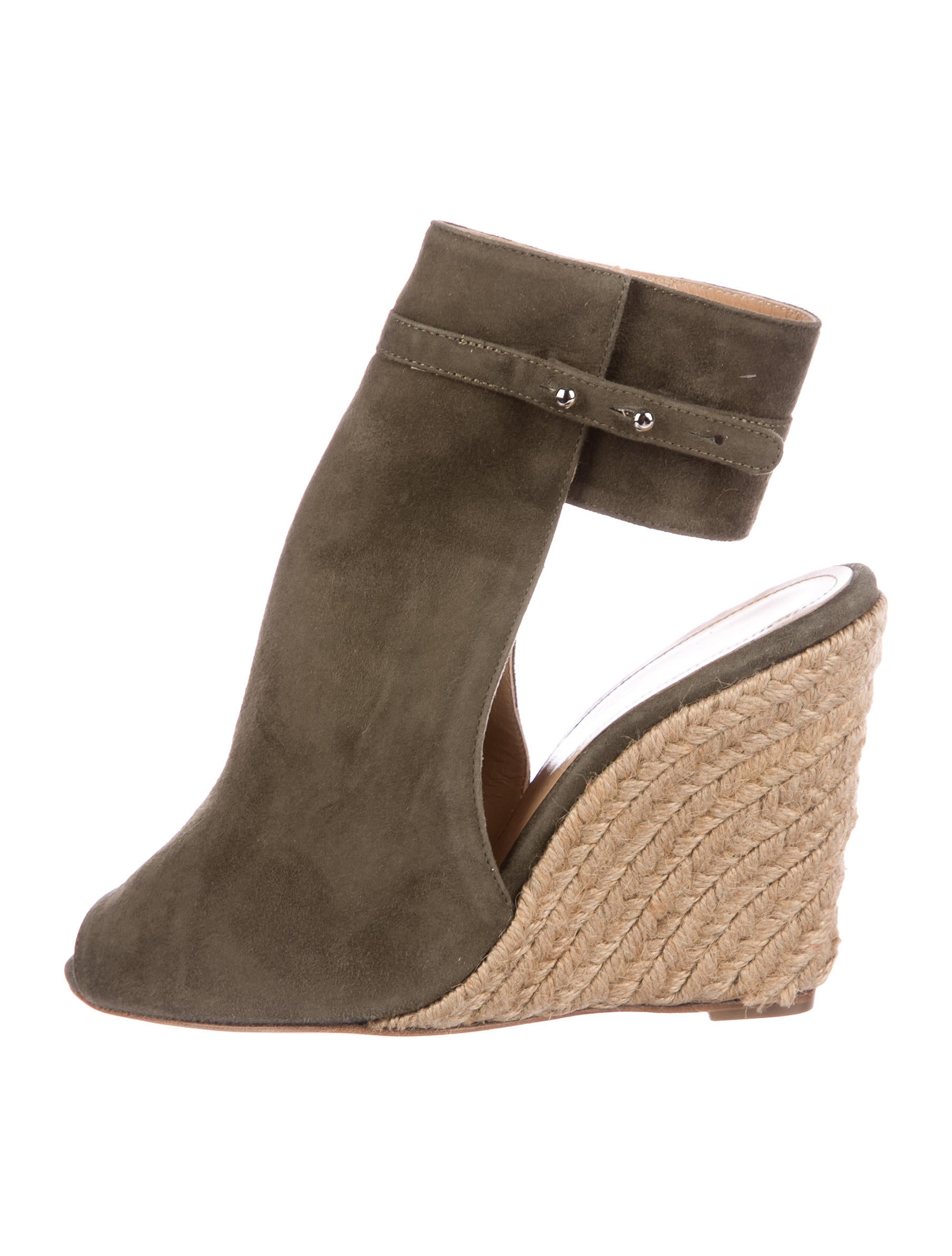 discount outlet store discount top quality Hôtel Particulier Suede Espadrille Wedges w/ Tags sale browse cheap sale limited edition online cheap price v7WYw8lsm5