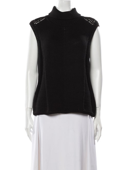 Helmut Lang Turtleneck Sweater Black