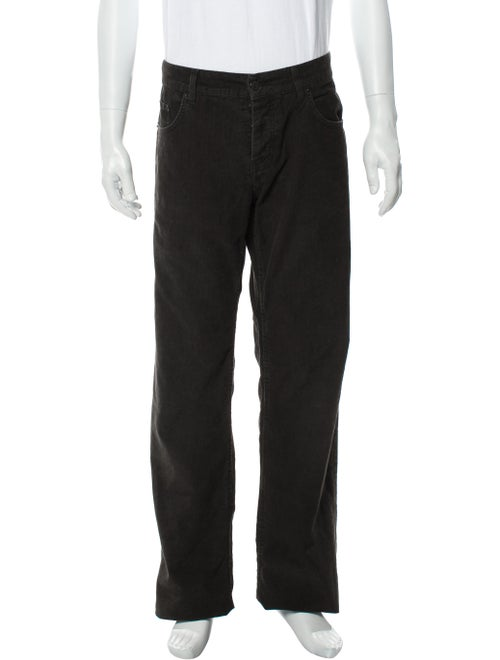 Helmut Lang Corduroy Bootcut Jeans brown