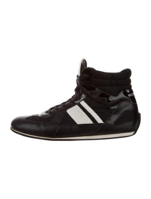 Helmut Lang Printed Sneakers Black