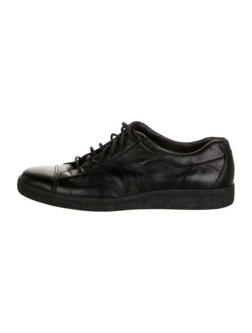 Helmut Lang Leather Sneakers Black