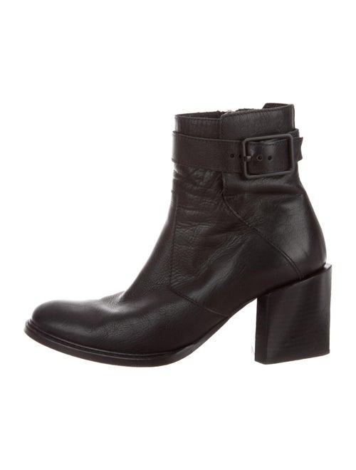 Helmut Lang Leather Boots Black