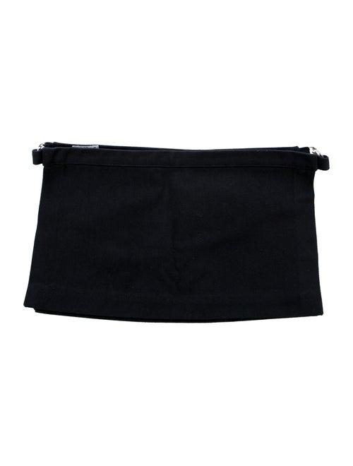 Helmut Lang Vintage Apron Waist Belt Black
