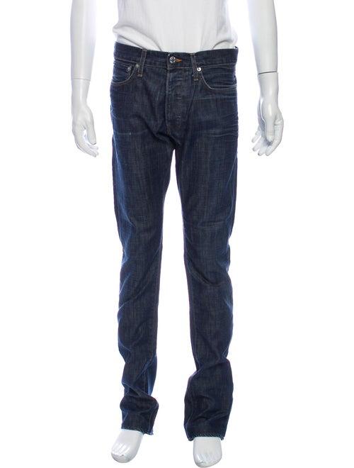 Helmut Lang Skinny Jeans Blue