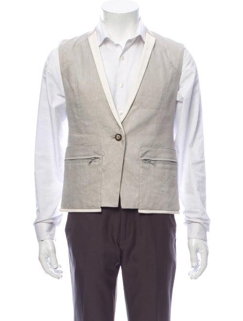 Helmut Lang Linen Suit Vest