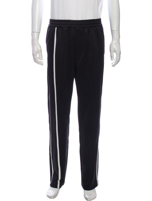 Helmut Lang Striped Pants Black