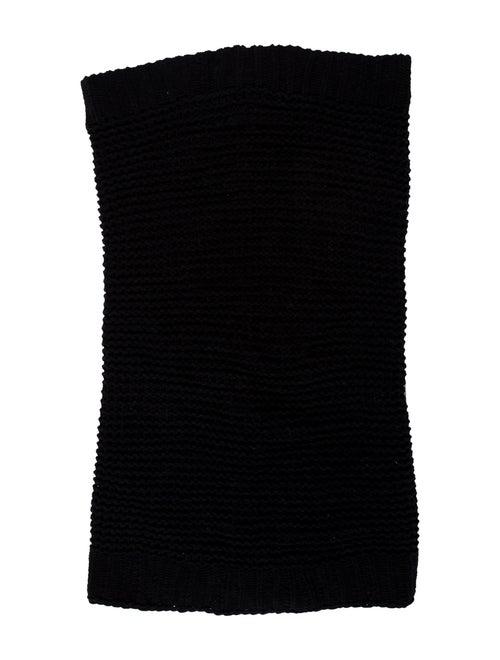 Helmut Lang Knit Snood Black