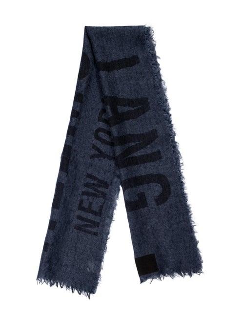 Helmut Lang Woven Logo Scarf black - image 1