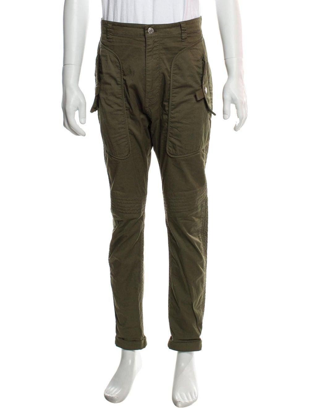 Helmut Lang Cargo Pants Green - image 1