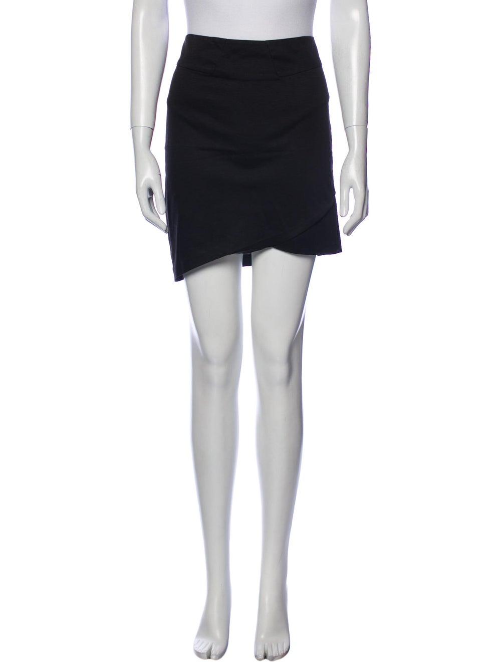 Helmut Lang Mini Skirt Black - image 1
