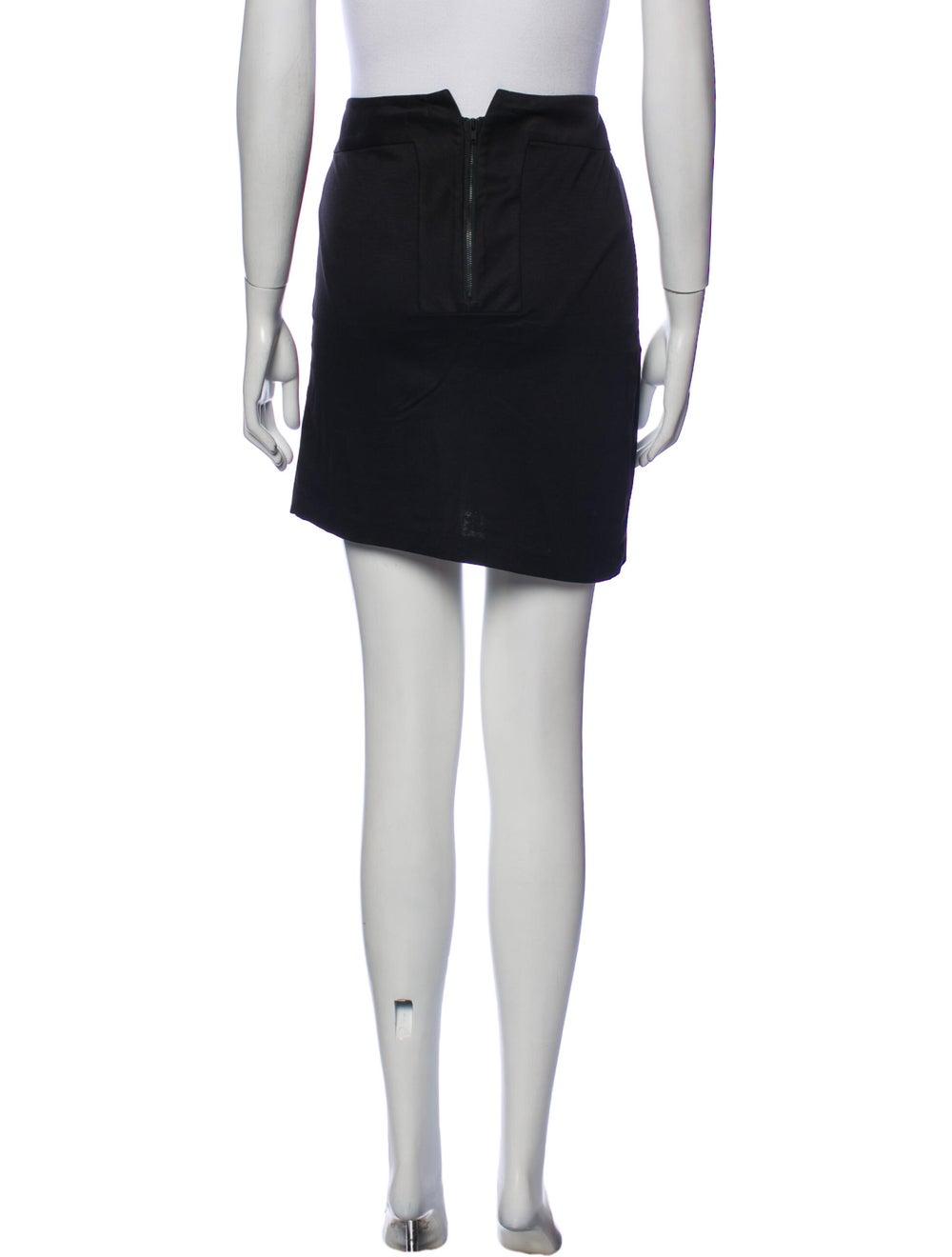 Helmut Lang Mini Skirt Black - image 3