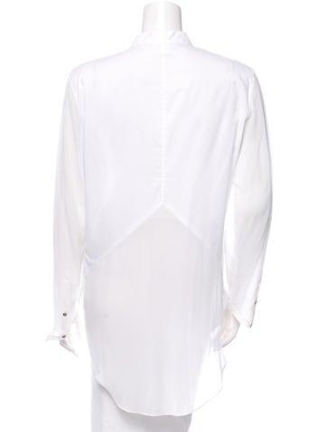 Button-Up Blouse