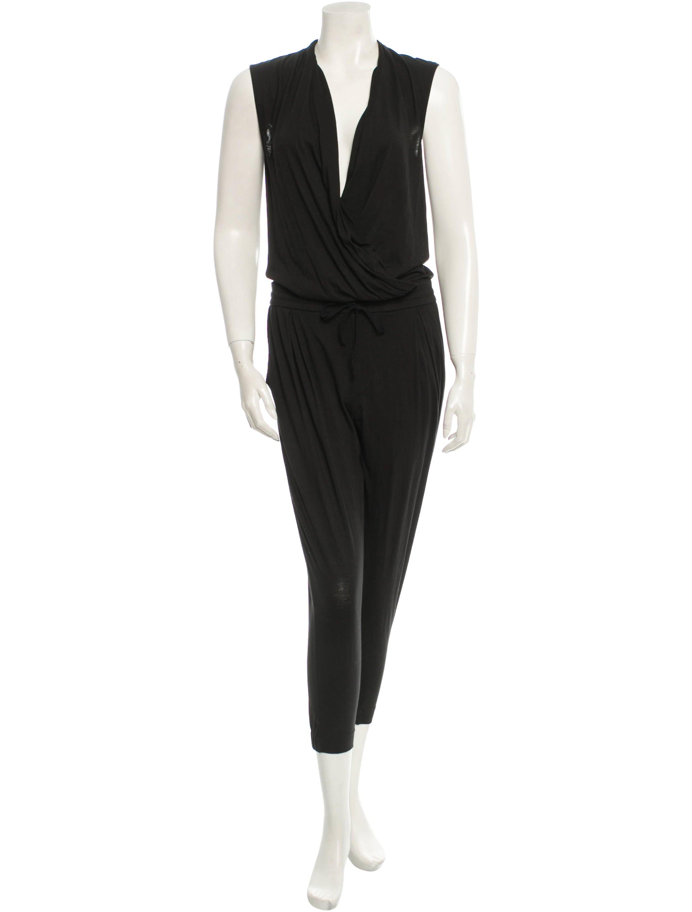schwarzer jumpsuit lang schwarz gemustert sommer jumpsuit. Black Bedroom Furniture Sets. Home Design Ideas