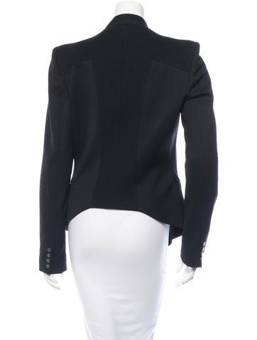Long Sleeve Wool Blazer