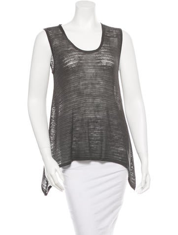 Helmut Lang Knit Sleeveless Top None