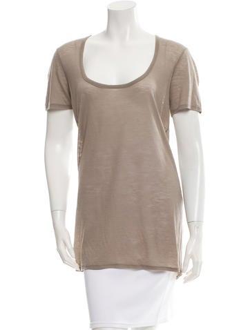 Helmut Lang Wool Short Sleeve T-Shirt!