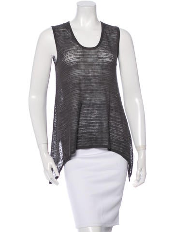 Helmut Lang Sleeveless Knit Sweater None