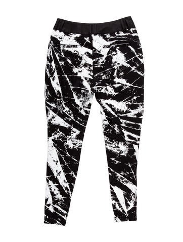 Paint Splatter Harem Pants