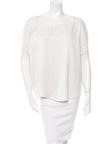 Helmut Lang Oversize Short Sleeve Top