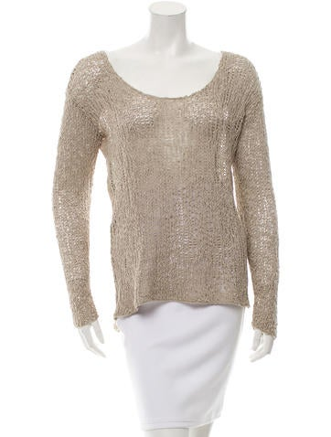Helmut Lang Open Knit Sweater None