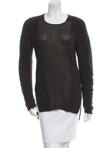 Helmut Lang Alpaca Knit Sweater