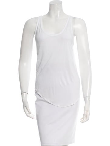 Helmut Lang Sleeveless Scoop Top None