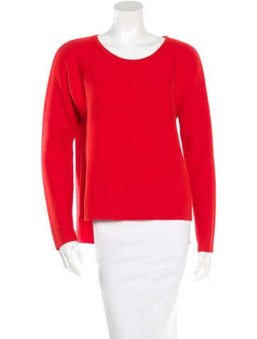 Helmut Lang Rib Knit Oversize Sweater None