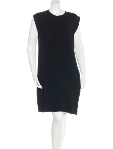 Helmut Lang Wool & Cashmere-Blend Sweater Dress None